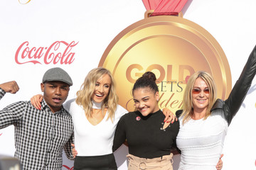 Nadia Comaneci GOLD MEETS GOLDEN: The 5th Anniversary Refreshed by Coca-Cola, Globes Weekend Gets Sporty with Athletic Royalty