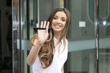 Nadine Coyle Nadine Coyle Spotted at the ITV Studios