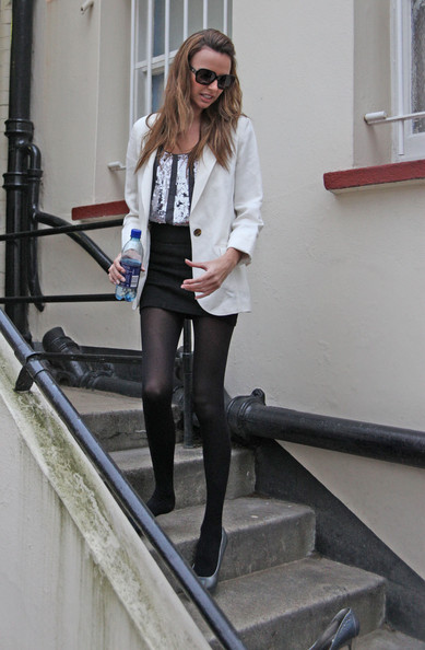 nadine coyle out and about zimbio