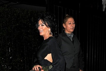 Nancy Dell'Olio Celebs Spotted at Chiltern Firehouse