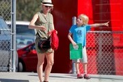 Naomi Watts and Family in Los Angeles