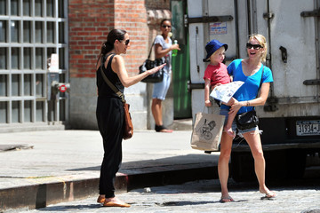 Naomi Watts Sasha Schreiber Naomi Watts Out and About with Her Son