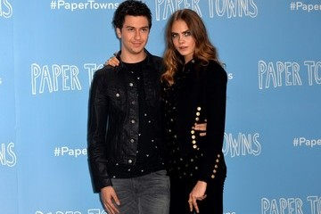 Nat Wolff Actors Attend the 'Paper Towns' Photocall