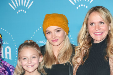 Natalie Alyn Lind Cirque du Soleil Presents The Los Angeles Premiere Event Of 'Luzia'
