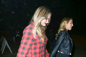 Natalie Alyn Lind Celebrities Are Seen at Haunted Hayride at Griffith Park