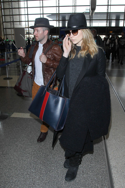 Natalie Dormer and Anthony Byrne Are Seen at LAX