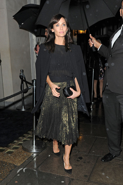 Natalie Imbruglia Leaving the Nobu 10th Anniversary Party