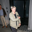 Natalie Maines Natalie Maines Outside Craig's Restaurant In West Hollywood