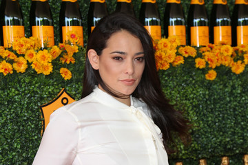 Natalie Martinez Celebrities Arrive at the Sixth-Annual Veuve Clicquot Polo Classic