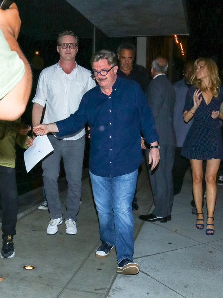 Nathan Lane Outside Craig's Restaurant In West Hollywood