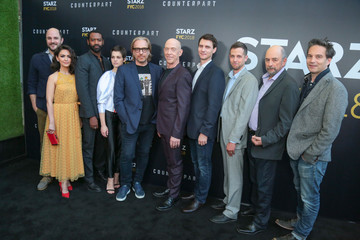 Nazanin Boniadi Justin Marks STARZ 'Counterpart' And 'Howards End' FYC Event