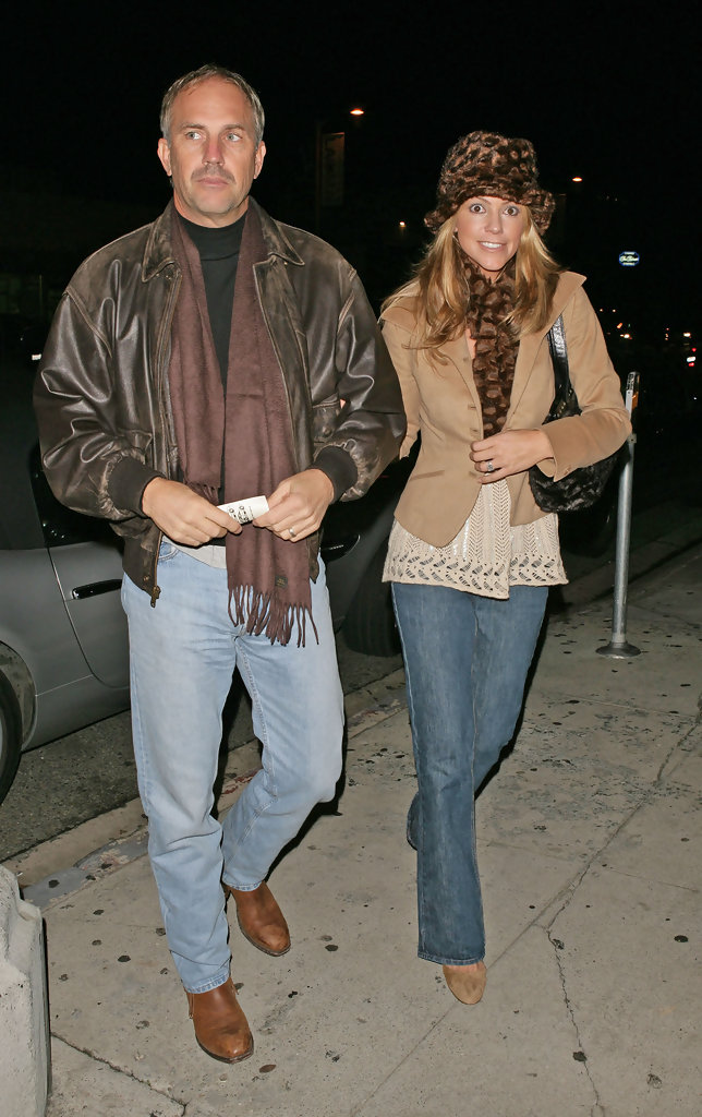 kevin costner photos photos kevin costner and wife at