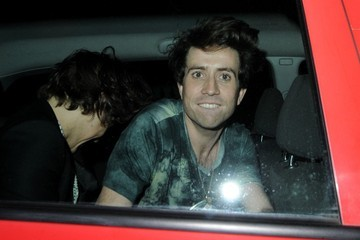 Nick Grimshaw Harry Styles Harry Styles and Nick Grimshaw Out Late in London