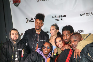 Nick Young Tracy Jernagin 'We Want EBIE' All-Star Weekend Kick-Off Party