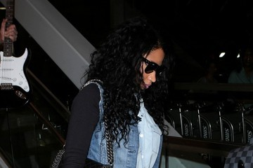 Nicki Minaj Nicki Minaj Is Seen at LAX