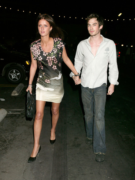 Ian Somerhalder And Nicky Hilton   Celebrities At Avalon Club