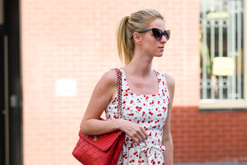 Nicky Hilton Nicky Hilton Dons a Cherry Dress