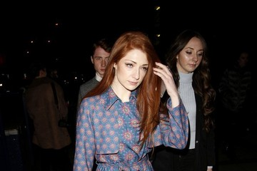 Nicola Roberts Arrivals at Henry Holland