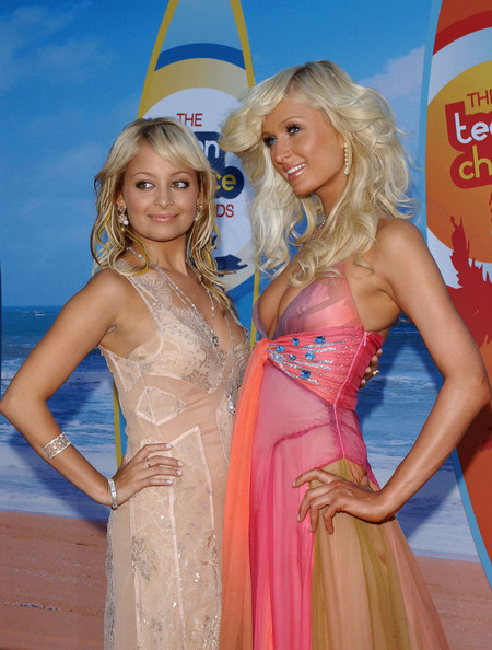 Nicole richie teen choice award