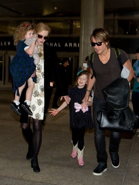 Nicole Kidman and Family at LAX — Part 2