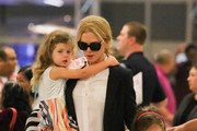 Nicole Kidman and Her Family Are Seen at LAX