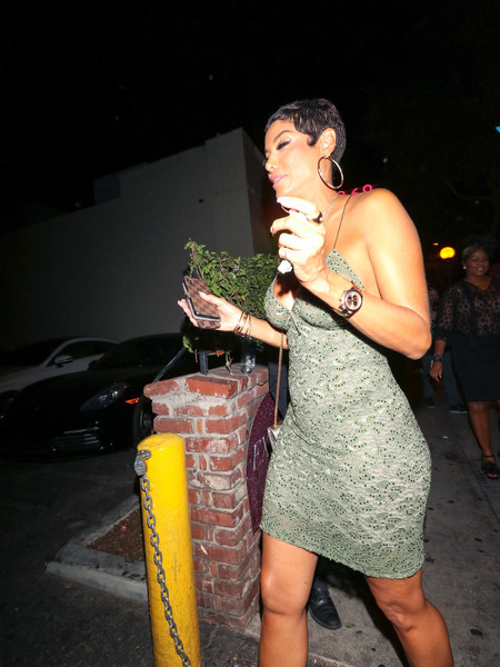 Nicole Mitchell Murphy Outside Delilah Nightclub In West Hollywood
