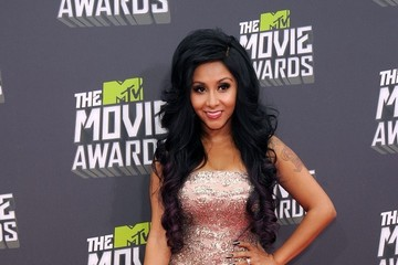 Nicole Polizzi Arrivals at the MTV Movie Awards 2