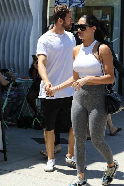 Nikki Bella And Artem Chigvintsev Seen In Los Angeles