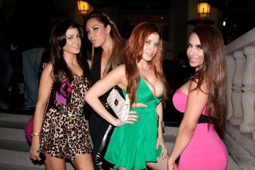 Nikki Giavasis The Howe Twins Party Late in Hollywood