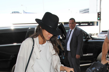 Nikki Reed Ian Somerhalder and Nikki Reed Are Seen at LAX