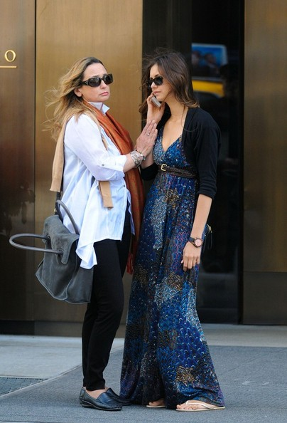 Nina Dobrev - Nina Dobrev Out With Her Mother 2