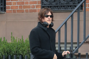 Norman Reedus Norman Reedus And Diane Krueger Out In New York City