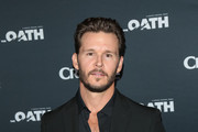 Ryan Kwanten is seen attending the premiere of Crackle's 'The Oath' at Sony Pictures Studios in Los Angeles, California.