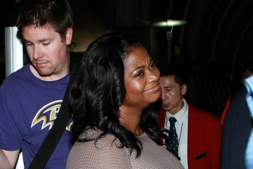 Octavia Spencer Octavia Spencer at LAX