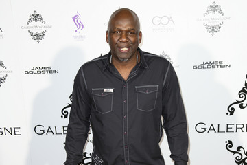 Olden Polynice Celebs Attend the Opening of Galerie Montaigne