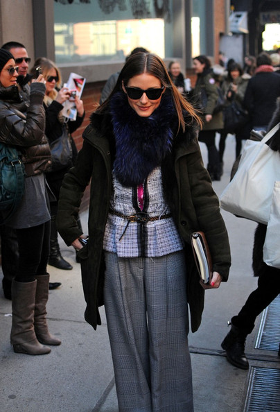 olivia palermo fashion. Olivia Palermo at Fashion Week