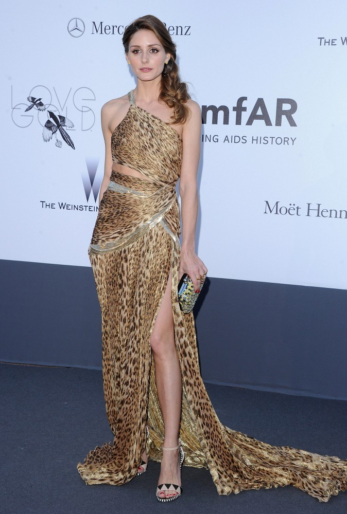 Olivia Palermo - Arrivals at amFAR's Cinema Against AIDS Gala