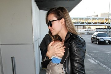 Olivia Wilde Olivia Wilde and Family at LAX