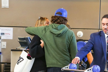 Olivia Wilde Olivia Wilde and Jason Sudeikis at LAX