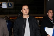 Orlando Bloom seen at LAX