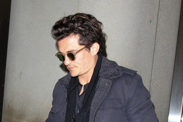 Orlando Bloom Orlando Bloom Arrives at LAX