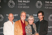 Eliot Feld, Russ Tamblyn, Rita Moreno and George Chakiris are seen attending 'Words On Dance: Jerome Robbins and West Side Story' presented by The Paley Center for Media at The Paley Center for Media in Los Angeles, California.