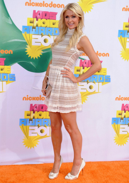 Paris Hilton Nickelodeon's 24th Kids' Choice Awards.USC's Galen Center, Los Angeles, CA.April 2, 2011.