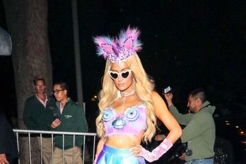Paris Hilton Paris Hilton Is Seen At The Casamigos Halloween Party In Beverly Hills