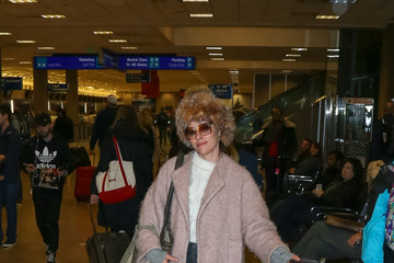 Parker Posey Celebrities Are Seen at Salt Lake City Airport