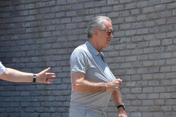 Pat Riley Celebs Attend Joel Silver's Annual Memorial Day Beach Party in Malibu