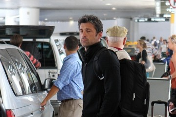 Patrick Dempsey Patrick Dempsey Spotted at LAX