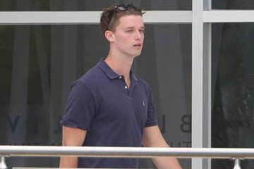 Patrick Schwarzenegger Patrick Schwarzenegger Goes to the Pool