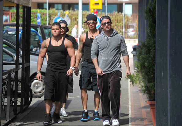 jersey shore ronnie and mike fight. The Jersey Shore boys Mike