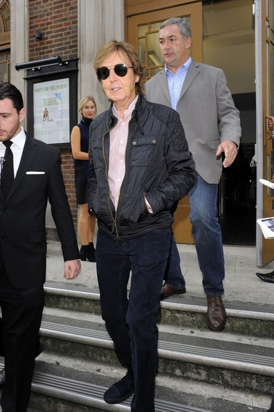 Paul McCartney - Celebs at London Fashion Week — Part 6